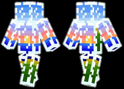 Minecraft的日落arget=